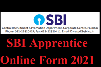 SBI Apprentice Bharti 2021